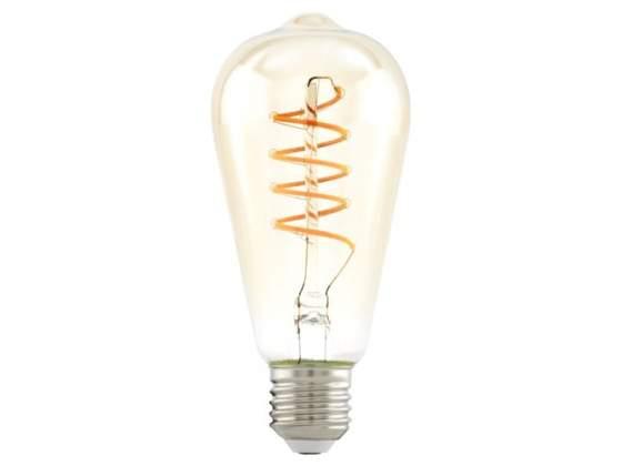 Lampadina Led HV filamento pera trasparente 4W/25 E27 luce