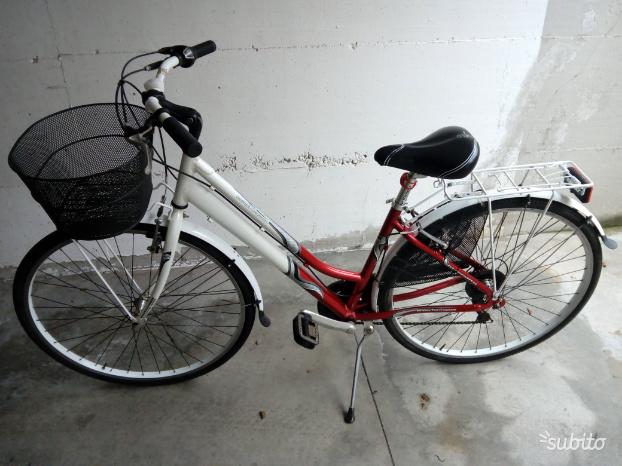 Bici bicicletta donna alluminio 28