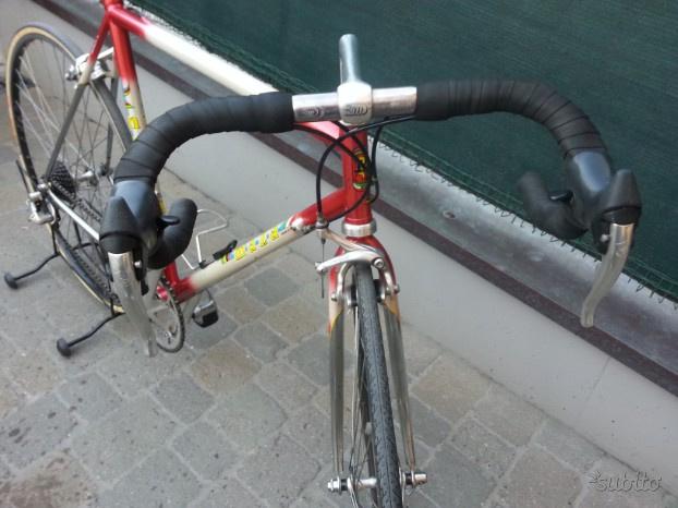 Bici corsa epoca eroica MAZA componenti CAMPAGNOLO