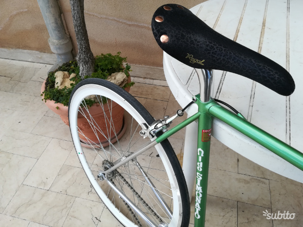 Bici corsa single speed