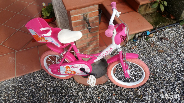 Bicicletta Winx come nuova