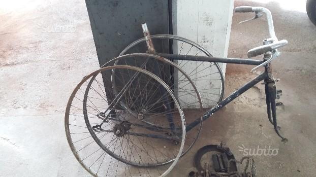 Bicicletta anni 40 Tanfoglio