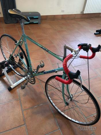Bicicletta bianchi vento 602 corsa