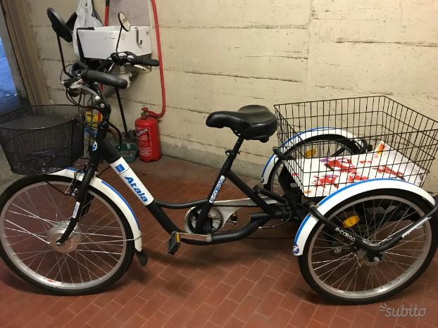 Bici Elettrica A Tre Ruote Triplex 24 Posot Class