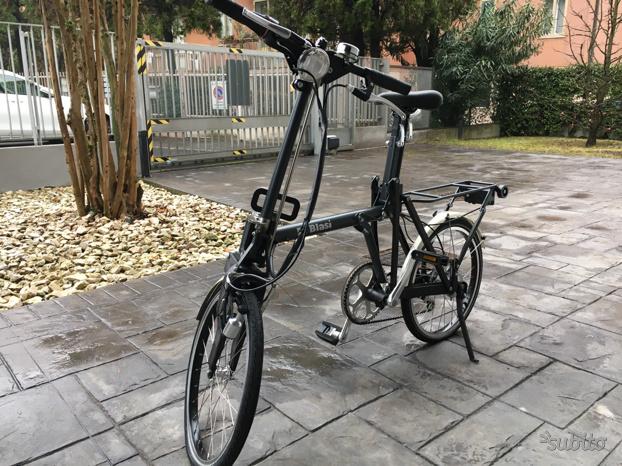 Bici Pieghevole Di Blasi.Ciclomotore Pieghevole Di Blasi Posot Class