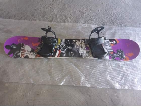 Drake DF + Attacchi SP Fastec XL SnowBoard Freestyle