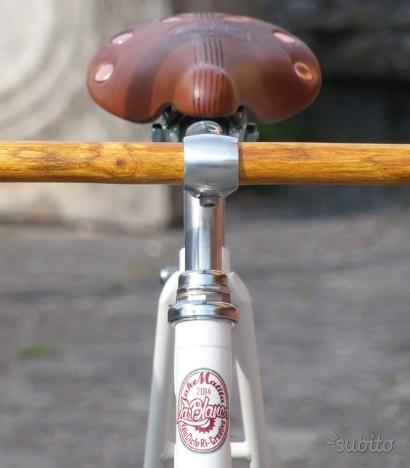 La Blanca - Art Bike Single Speed - Bici Vintage