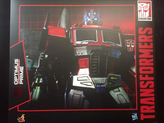 Hot toys optimus prime trasformers no sideshow