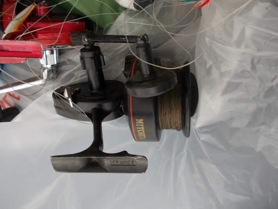 Mulinelli (4) per canne da pesca, in blocco