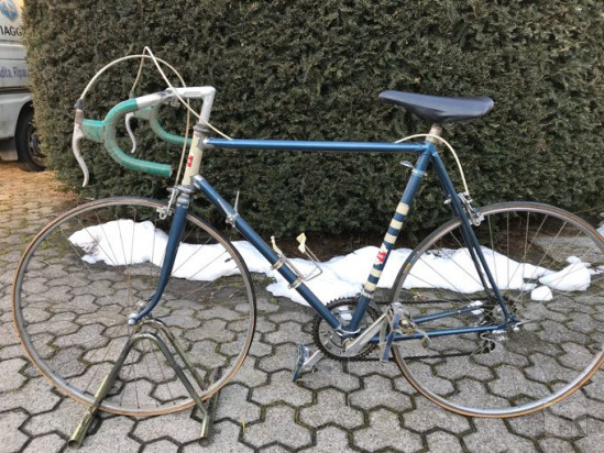 Bicicletta da corsa epoca eroica