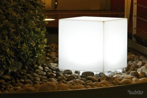 Cubo Luminoso cm 40 x 40 x 40 H cm