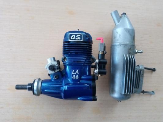 Motore a scoppio OS LA 46