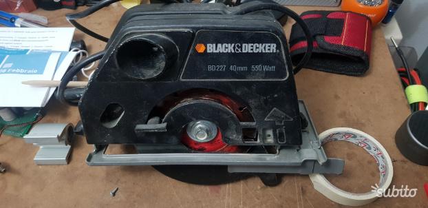 Sega circolare Black&Decker BD mm 550 watt