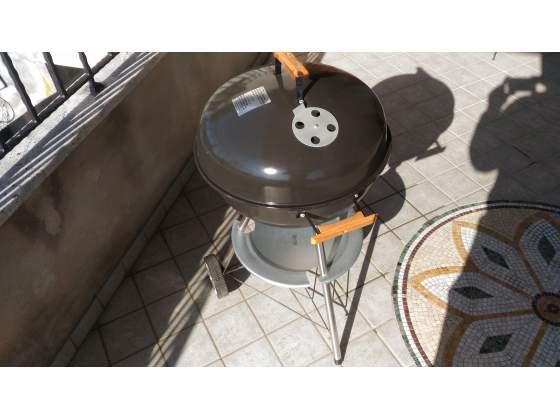 Barbecue kettle bbq griglia a carbone carbonella