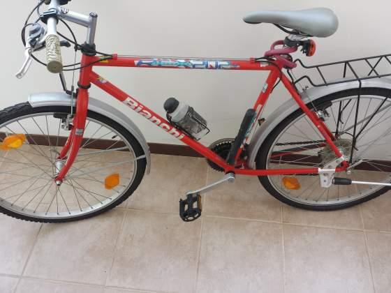 Bianchi Bicicletta city bike colore rosso