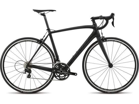 Bici corsa in carbonio specialized tarmac sport nero