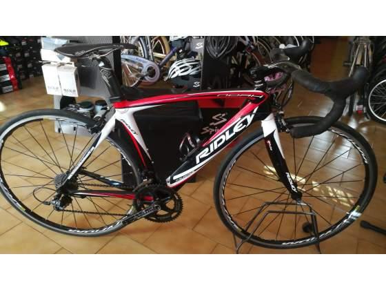 Bici da corsa RIDLEY nero/rossa h. 51