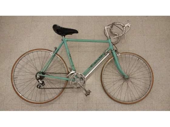 Bicicletta Bianchi da corsa vintage da bambino/donna