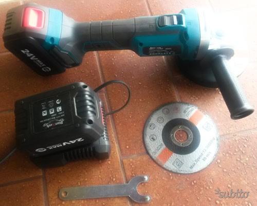 Flex batteria parkside posot class for Smerigliatrice a batteria parkside
