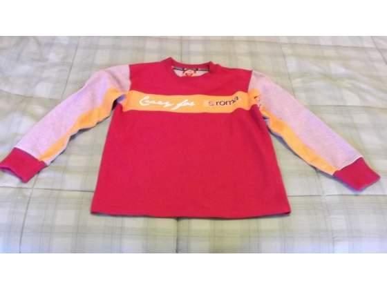 Felpa originale AS Roma tg 8 anni maglia maglietta