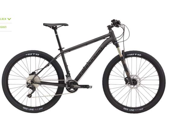 Mtb 29 cannondale trail 1 xt disk idraulic nuove