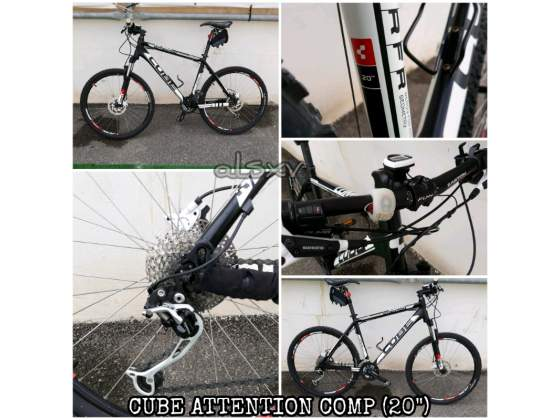 Mtb cube attention comp taglia 20""