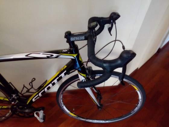 Vendo bici da corsa in carbonio come nuova usata due volte