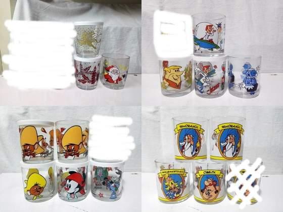 FERRERO NUTELLA vari bicchieri vintage guarda tutte le foto