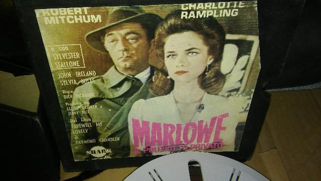 FILM SUPER 8 MARLOVE IL POLIZZIOTTO PRIVATO