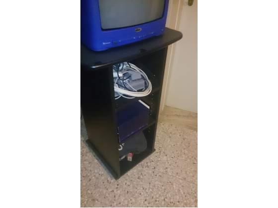 Porta cd o dvd da parete e da terra posot class for Regalo tv usato