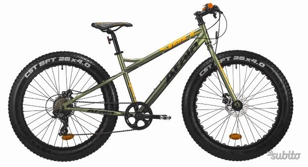 Mtb fat bike atala bull disk nuove