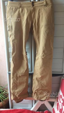 Pantaloni snowboard pants Burton taglia M beige