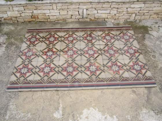 Pavimento in cementine antiche mq posot class