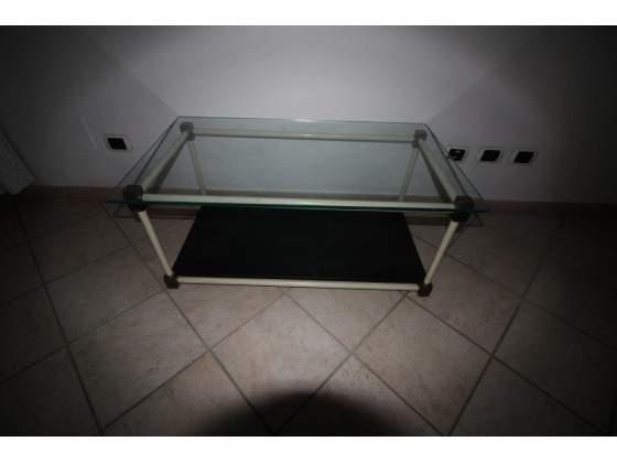 Tavolino soggiorno vetro cristallo