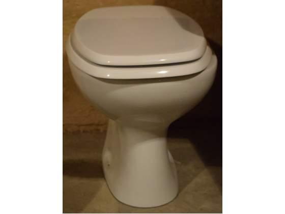 Vaso wc ceramiche dolomite completo di sedile e coperchio