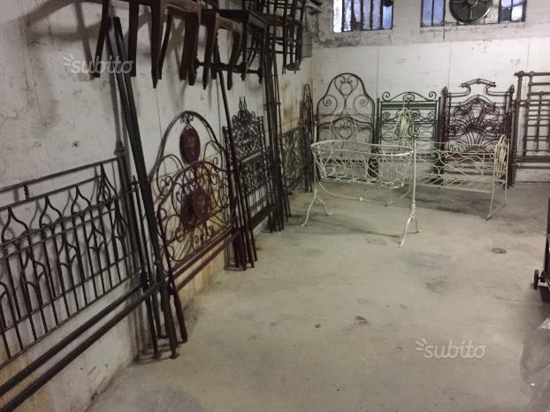 Antichi letti in ferro