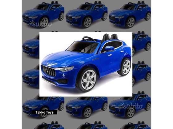 Auto macchina elettrica Maserati LEVANTE 2 posti B