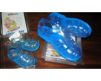 quality design cce76 9956e Sandali granchietto chicco azzurri | Posot Class