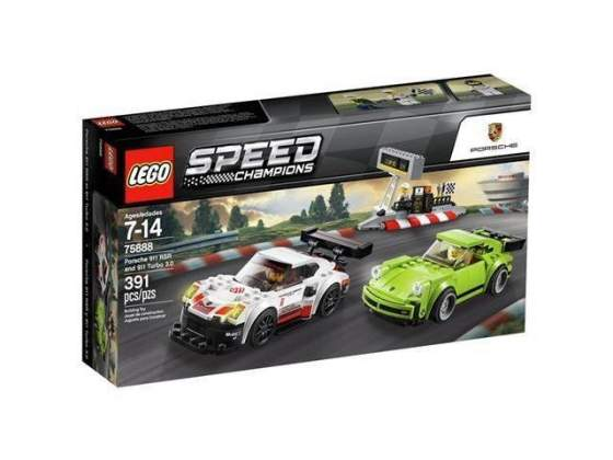 Lego speed champions  - porsche 911 rsr e 911 turbo 3.0