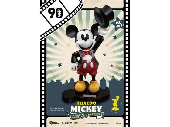 Mickey Mouse Master Craft Statue 1/4 Tuxedo Mickey 90th