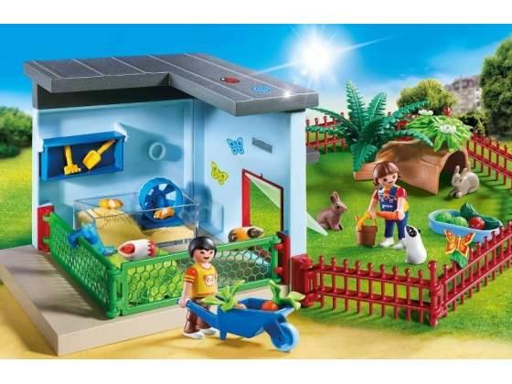 Playmobil  - residenza di conigli e criceti