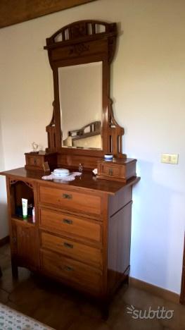 Toiletta armadio e testata primi 900 originali