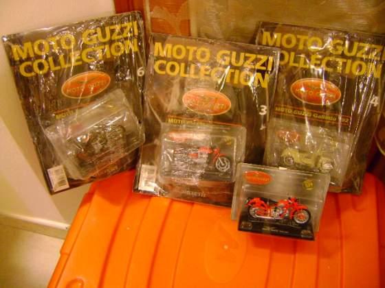 5 moto guzzi collection