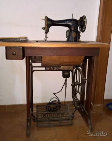 Macchina da cucire singer anni 50 prezzo ribassato