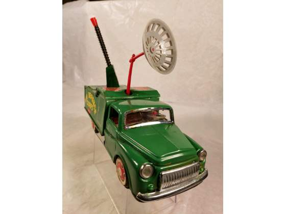 Red China tin toy from the 60ties; Air Defence Corps. Camion