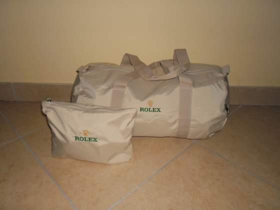 Rolex borsone da viaggio + pochette