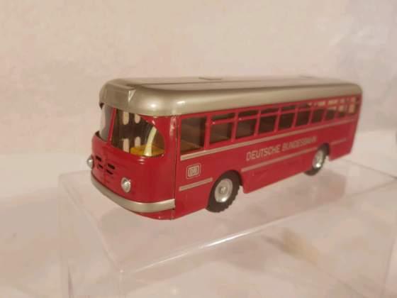 Tin toys, bus CKO (replica) come nuovo.