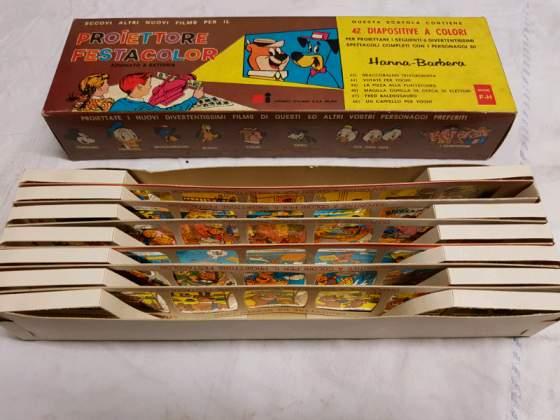 Walt disney/Hanna Barbera box gelatine da proiezione anni 60