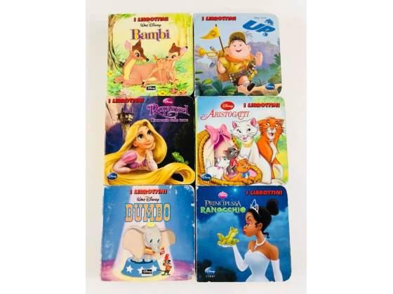 6 Librottini Walt Disney Cartoni Animati