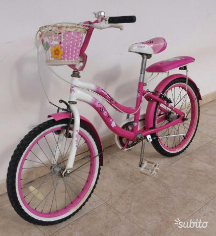 Bici bimba ButterflyFlower ruote 20